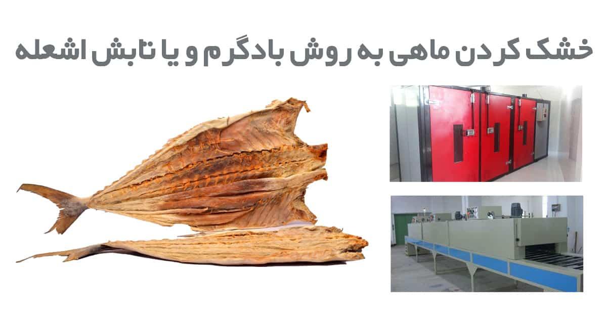 خرید دستگاه خشک کن ماهی و میگو